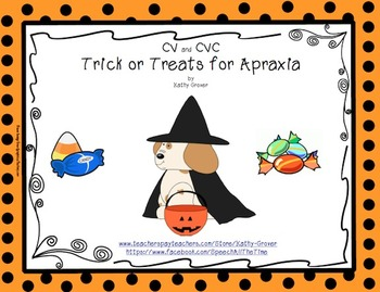 Trick or Treats for Apraxia