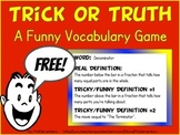Fun, Free Vocabulary Game