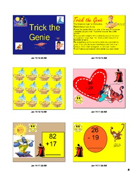 Trick the Genie Addition and Subtraction
