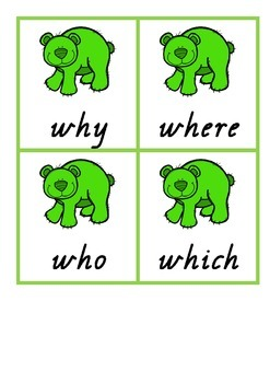 Trick word snap, tricky word hunt cards Jolly