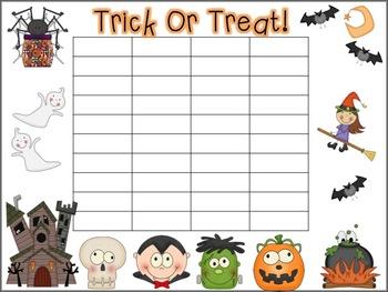 Tricks and Treats {A Halloween Math and Literacy Mini-Unit}