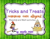 Tricks and Treats Reading and Math