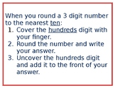 Tricks for Rounding 3 digit Numbers
