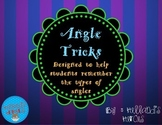 Tricks for Teaching the Types of Angles