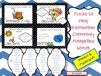 Tricks to Help Students Spell Commonly Misspelled Words