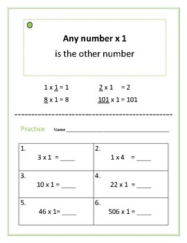 Tricks to Remember Multiplication Facts