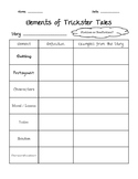 Trickster Tale Activity