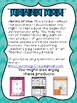 Trickster Tale Comprehension Reading Response with Cause and Effect