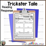 Trickster Tale Comprehension Reading Response with Cause a