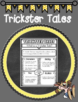Trickster Tales Anchor Chart