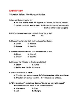 Trickster Tales Assessment
