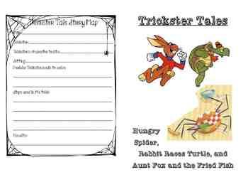Trickster Tales Mini-Booklet