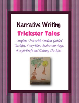 Trickster Tales Narrative Writing Assignment Project