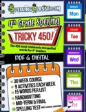 Tricky 450! 4th Grade Spelling Workbook | 30 Weeks | Daily Lessons | Tests