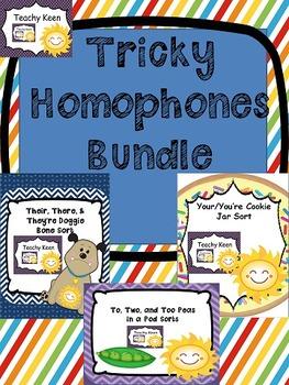 Tricky Homophone Bundle