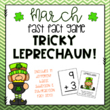Tricky Leprechaun! - March Fast Fact Game