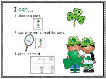 Tricky Leprechaun - Mirror Words