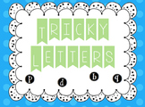Tricky Letters- Recognition Practice b, d, p, q