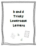 Tricky Lowercase Letters b & d
