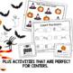 Halloween Math Worksheets for Kindergarten