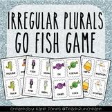 Irregular Plurals Nouns Go Fish game