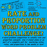 Proportion Word Problems!