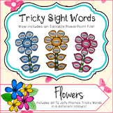 Editable Sight Word Flowers