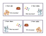 Tricky Sight Word I have-Who has? Game Part 2