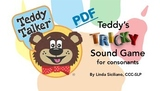 Teddy's Tricky Sound Game for Consonants PDF and Teaching Guide