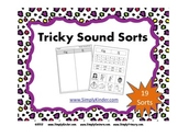 Alphabet Tricky Sound Sorts