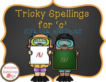 Tricky Spellings for 'c'