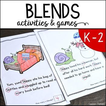 Consonant Blends Activities