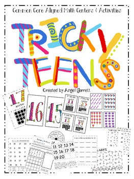Tricky Teen Centers & Activities (Common Core Aligned)
