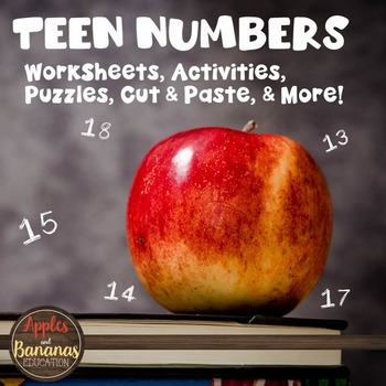 Teen Numbers - Activities and Worksheets
