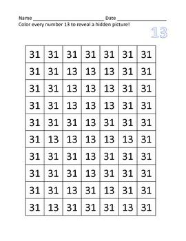 Tricky Teen Set Free Sample - Number 13 (PK, K, 1st)