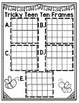 Tricky Teen Ten Frames QR Codes