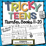 Tricky Teens 11-20 --- Interactive Number Books for Teen Numbers 11-20