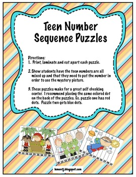Tricky Teens (A Collection of activities to teach teen numbers as tens and ones)