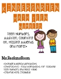 Tricky Teens & Addition- Standard Aligned Activity Sheets!