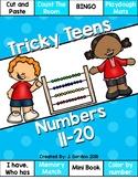 Tricky Teens - Numbers 11-20