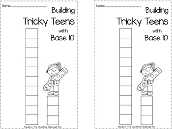 Tricky Teens Pack {Compatible with Math Expressions}