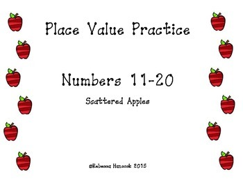 Tricky Teens:  Place Value Practice for 11-20 Freebie