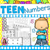 Tricky Teens! Printables to Practice Those Tricky Teen Numbers