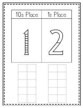 Tricky Teens Sticker Book (Concrete activity for the numbers 11-19)