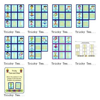 Tricky Tens and Ones (Place Value)