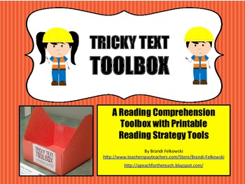 Non-Fiction Reading Comprehension Toolbox