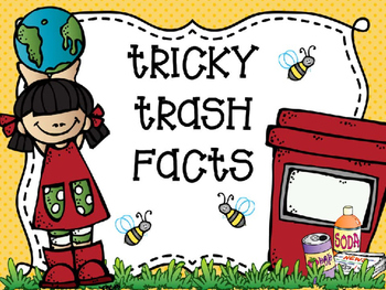Tricky Trash Math Facts