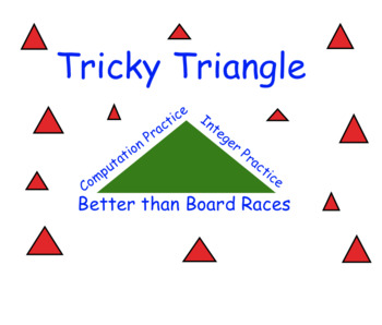 Tricky Triangle Template for Math Practice
