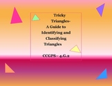 Tricky Triangles- A Guide to Identifying and Classifying T