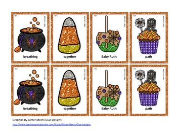 Speech Therapy: Tricky Trick-or-Treat Match Game